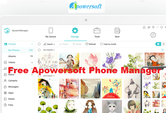 apowersoft phone manager free